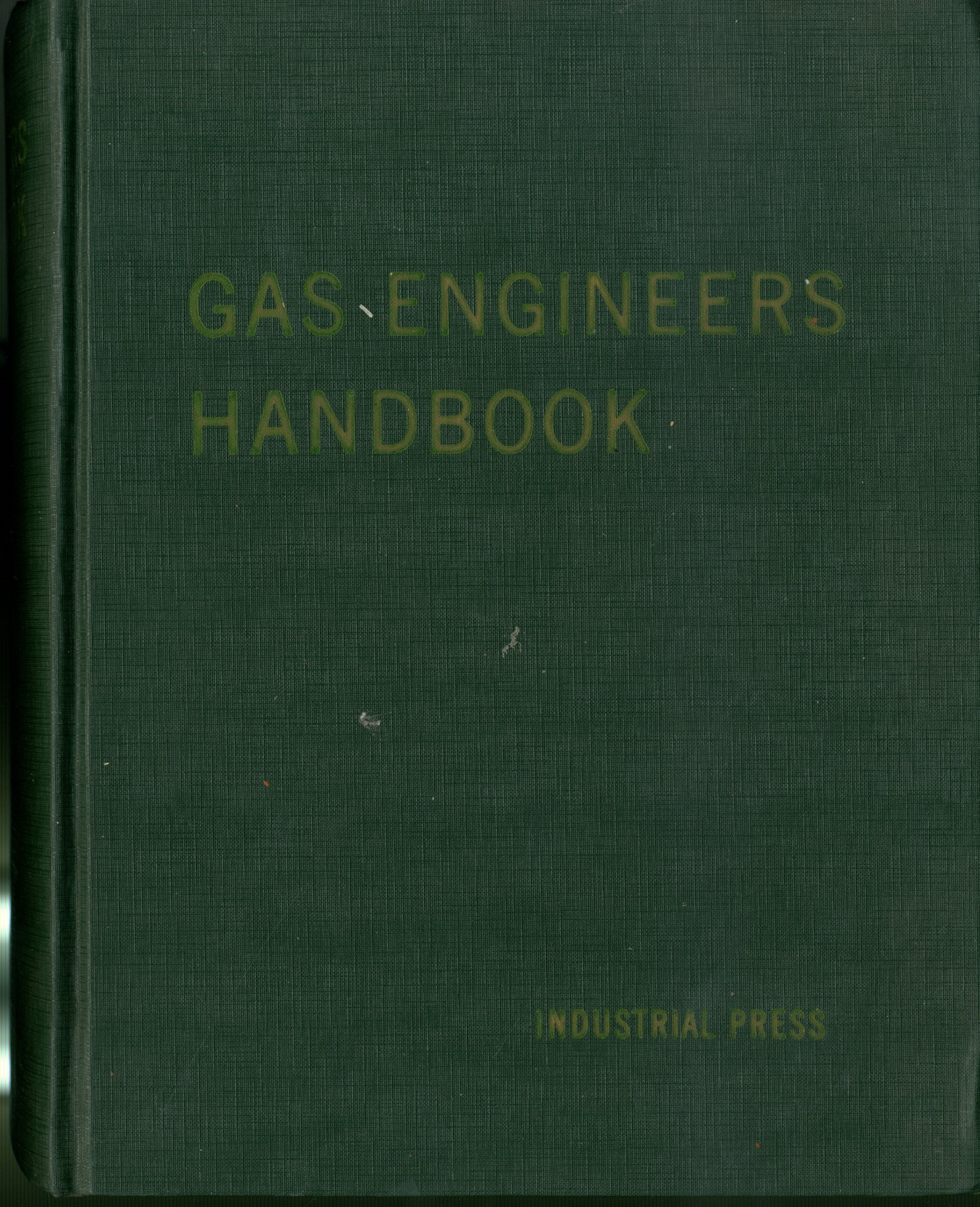 gas engineers handbook segeler